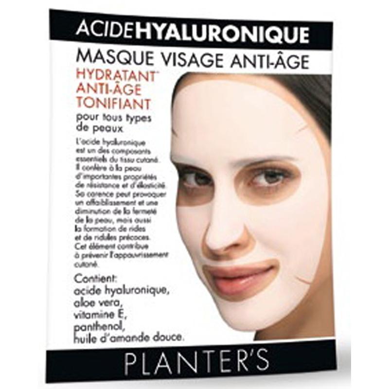 j ai test pour toi les masque l acide hyaluronique de chez planter s gloss me up. Black Bedroom Furniture Sets. Home Design Ideas