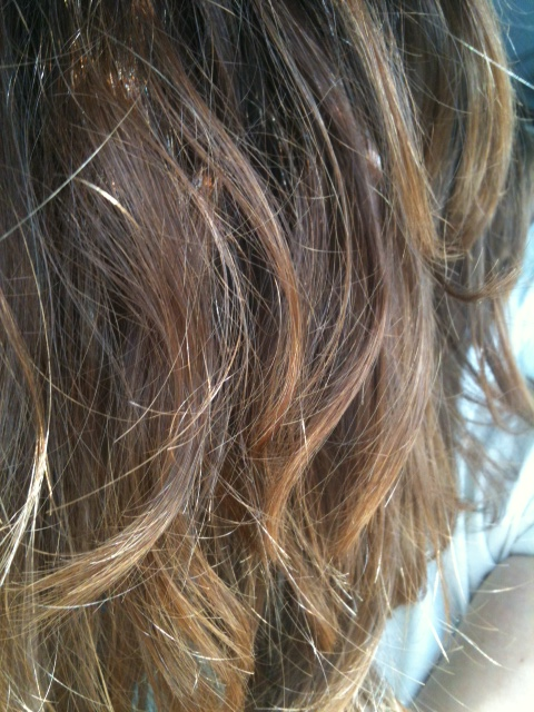 Coloration henne blond sur brun