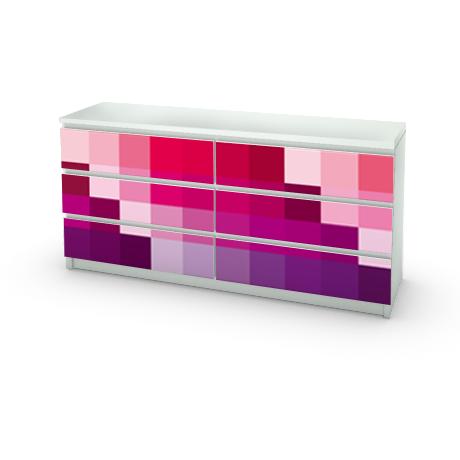 D co je customise mes meubles ikea avec des stickers - Sticker meuble ikea ...